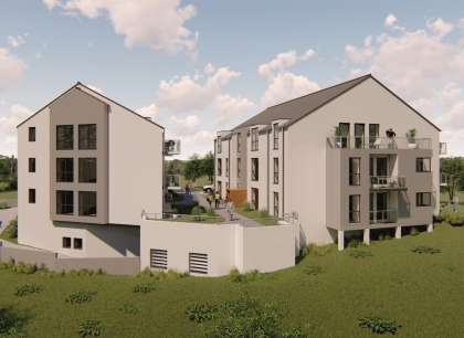 Résidence de 15 appartements en future construction à Weidingen/Wiltz